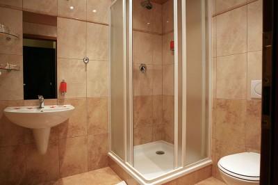 Душевые кабины в ванной