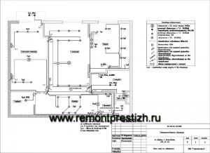 Электропроект квартиры. Фото 1