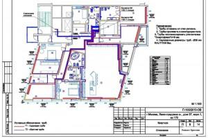 Проект отопления квартиры