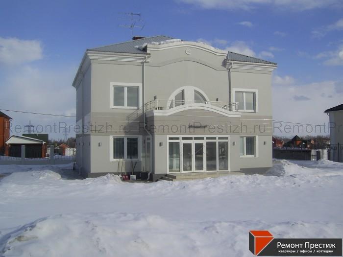 д. Борисовка, коттедж 600 кв.м