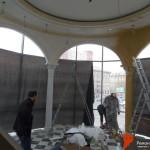 Монтаж декоративных арок