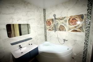 Отделка ванной в таунхаусе