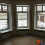 Окна в гостиной