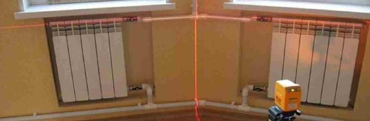 Монтаж радиаторов в частном доме