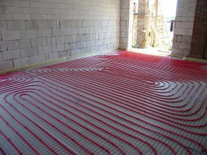 Монтаж теплого дома в доме из газобетона