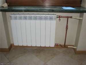 Монтаж радиаторов отопления