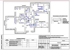 Проектирование электропроводки в доме
