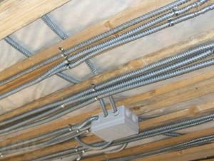 Монтаж электрики в каркасном доме