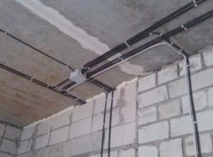 Электромонтажные работы коттеджа 300 кв.м, д. Голицино