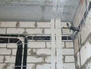 Электромонтаж коттедж 150 кв.м, д. Захарово