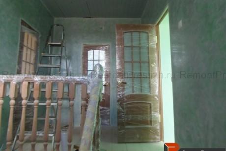 Лестничная площадка второго этажа