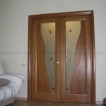 Двухстворная дверь
