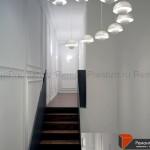 Оригинальное освещение лестницы