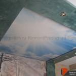 Фотовставка на потолке